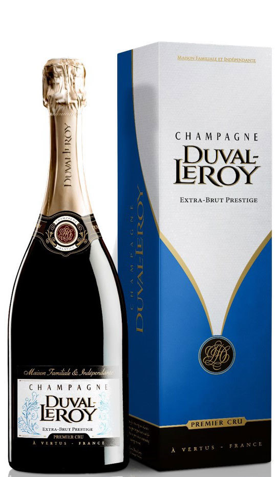 Champagne Duval-Leroy Extra Brut 0,75L (12,0% Vol.)