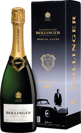 Champagne Bollinger Special Cuvée 007 Limited Edition 0,75L (12,0% Vol.)